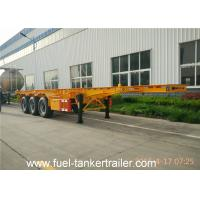 China 20 / 40 Feet Container Chassis Frame / Skeleton Trailer /20 Feet Trailer wholesale