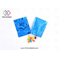 China Child Proof Resealable Foil Bags , Foil Packaging Bags For Medicine Pills Tablets And Drugs wholesale