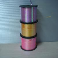 Quality Rain Bow Crimped Ribbon 250Y Length 5mm Width For Restaurants / Gift Stores for sale
