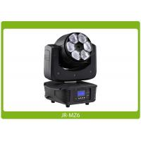 China LED Moving Head Beam Zoom, 6x15W, RGBW 4-in-1 Affordable Lighting Equipment wholesale