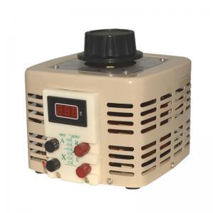 China TDGC2 Analog Meter Display Alternator Variac Voltage Regulator AC Automatic Variac Transformer on sale