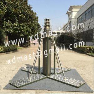 China telescopic antenna mast in telecommunication tower wholesale