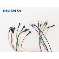 Buy cheap Replaceable EEG Ag/Agcl Gold And Sintered Cup EEG Electrodes And EEG Cables from wholesalers