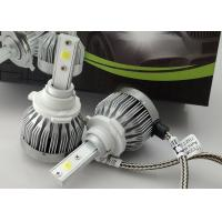 China 60W 6000 Lumen 12V LED Headlight COB Fanless High Brightness 9005 LED Headlights wholesale