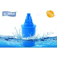 China Blue Color Alkaline Water Filter Cartridge 3 Pack Water Pitcher Replacement wholesale