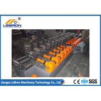 China High Speed Steel Channel Roll Forming Machine 18 Stations For Solar Strut wholesale