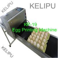 China The Whole Pallet Egg Printing Machine , Industrial Inkjet Printer For Eggs wholesale