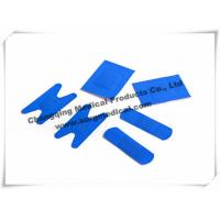 China Metal Detectable Adhesive Plaster Tape Blue Hypoallergenic Medical Tape For Food Grade wholesale