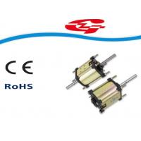 China High Voltage Dual-shaft Permanent Magnet DC Motor Used For Massager ZYT55B wholesale