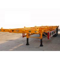 Skeleton 40 ft Shipping Container Trailer With 2 Axle , ISO Container Carrier Trailer