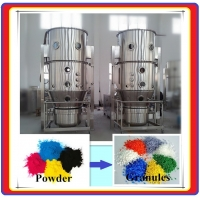 China Fl Fluid Bed Dryer Granulator Producing Porous Structure Granules on sale