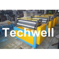 China 11KW Motor Power / PLC Control Three Roller Bending Machine To Curve Corrugated Sheets wholesale