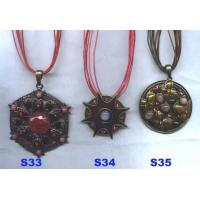 China Nice Enamelled and Semi-precious Necklace wholesale