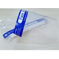 China Windproof Disposable Face Shield , Safety Face Shield Transparent Color wholesale