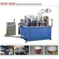 Buy cheap 19KW 80pcs/min Paper Bowl Machine Servo Control Large Dimension Ultrasonic Sealing from wholesalers