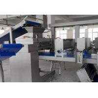 China 600mm Working Width Dough Laminating Machine For Pastries  with Removable DoughSheet Former wholesale