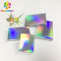 China Fleixble Packaging Custom Printed Paper Boxes Luxury Gift Hologram Paper Card wholesale
