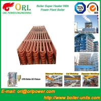 China Convection Platen CFB Style Boiler Superheater In Thermal Power Plant wholesale