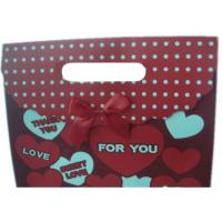China Custom Made Personalized Christmas Wrapping Paper Gift Bags With CYMK Color wholesale
