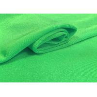 China 97 % R 3 % SP Polyester Spandex Fabric , Jacquard Knit Fabric 185 GSM Plain Dyed wholesale
