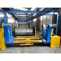 China used Hydraulic Shaftless Mill Roll Stand, Two Kraft Paper Reel, Hydraulic Lift-down wholesale
