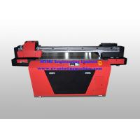 China Industrial UV Glass / Wood Printing Machine With Double Print Head wholesale