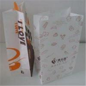 China Kraft paper 4-5 color print flexo printing kraft paper gift bags wholesale