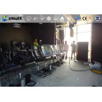 Quality 18 Persons 5D Movie Theater With Special Effect System 3DOF Pneumatic Motion for sale