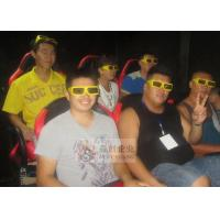 China Projector System 4D Movie Theatre with Hydraulic 4D Cinema Chair wholesale