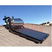 China 150L 300L Flat Plate Pressurized Solar Water Heater , Solar Hot Water System Geysers wholesale