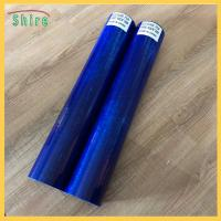 China Eco Blue Window Glass Protective Film For Painting , 500mm - 1600mm Width wholesale