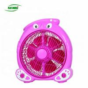 China 100v-240v Super Silent Box Fan , 6 Blade 10 Inch Thin Box Fan ROHS Certificate on sale