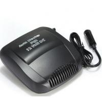 China Electric Small Portable Car Heaters 150w Black Color Plastic Material With Switch wholesale