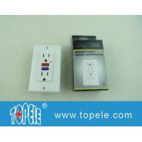 China 125V Tamper Resistant  Commercial Duplex GFCI Receptacles with LED Indicator Light wholesale