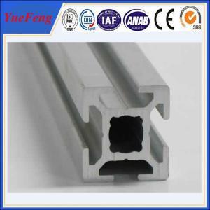 China Hot! anodized and powder coated t-slot aluminum supplier, t-slot aluminum profile factory wholesale