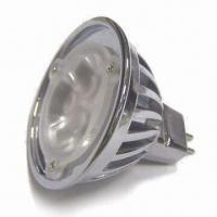 China 12V AC/DC LED Bulb, Fits for Tracking Light and Downlight with 3W Power, Available in Various Colors wholesale