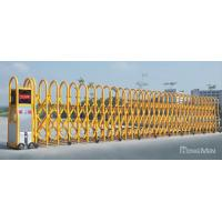 China Power Coating Metal Trackless Automatic Entrance Gates With Anti- Collision IR Sensor wholesale