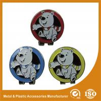 China Promotional Metal Golf Ball Markers With Soft Enamel Finished wholesale