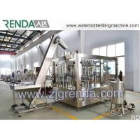 China Stainless Steel Gas Beverage Filling Unit , Washing Filling Capping Machine 5.5KW wholesale