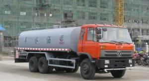 China Dongfeng 6x4 20000L 210hp Water Bowser Truck Double Back Bridge wholesale