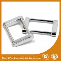 China Buckle Inner 37.4MM Antique Brass Classic Adjustable Square buckle For Handbags Or Suitcase wholesale