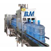China PET Bottle Rinsing Filling Capping Machine  For 3 Gallon Production Line wholesale
