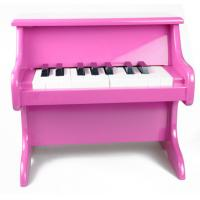 China Colorful Table Wooden Baby Piano 18 Key Upright For Home / School wholesale