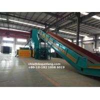 China FDY-1250 Semi-automatic Hydraulic horizontal baling press manufacturer wholesale