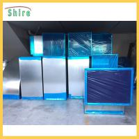 China Logo Customized Dark Blue Pe Plastic Protection Film For HVAC Ducting System wholesale