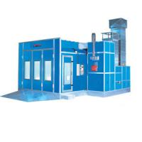 China Down Draft Infrared Car Spray Booth Equipment 6900 * 3900 * 2700 mm on sale