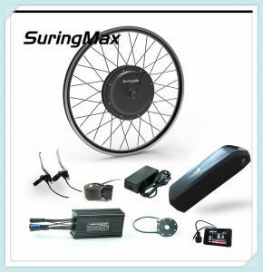 Buy cheap Light Weight Electric Mountain Bike Kit, Rear Wheel 48v 1000w Dc Gearless Motor/ from wholesalers