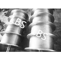 China High Performance Steel Wire Rope Drum , Fully Machined Lebus Grooved Drum wholesale