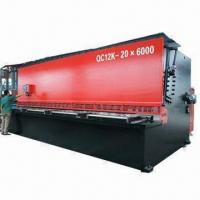 China Guillotine Shearing/Cutting Machine with Hydraulic and CNC System wholesale