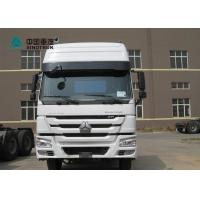 China SINOTRUK HOWO 6X4 371HP Prime Mover Truck Tractor Head Truck With 2 Bunkers wholesale